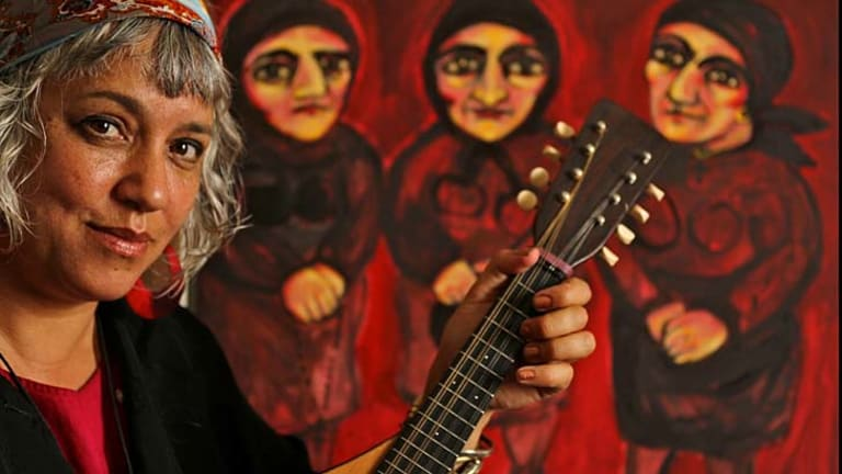 Right note: Melbourne singer-songwriter Kavisha Mazzella mines good material from years ago.
