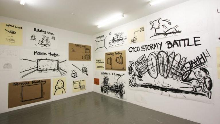 An installation view from Soren Dahlgaard at Gertrude Contemporary.