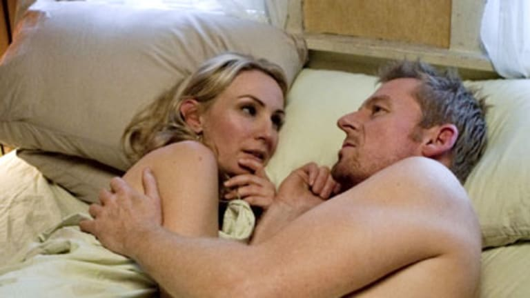 Lisa McCune stars with Richard Roxburgh in Rake.