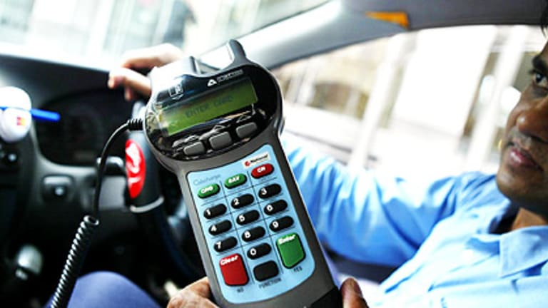 Electronic system ... Cabcharge claims are made electronically 99 per cent of the time.