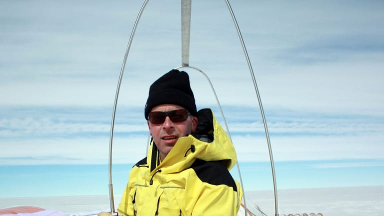 Ice Core and climate researcher Dr Tas van Ommen.