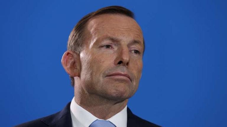 Tony Abbott runs the risk of scandal