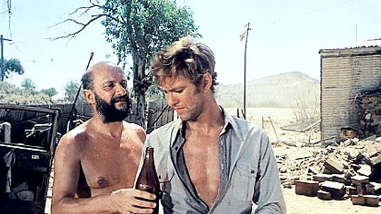 A scene from Ted Kotcheff's 1971 film <i>Wake In Fright</i>.
