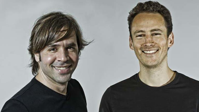Hidden Radio co-founders John van den Nieuwenhuizen and Vitor Santa Maria.
