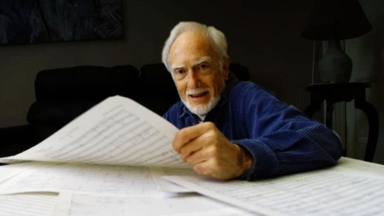A different cosmology: composer Nigel Butterley.