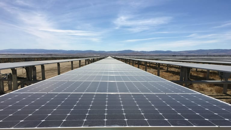 New renewable energy is not increasing fast enough to displace existing fossil fuel plants.