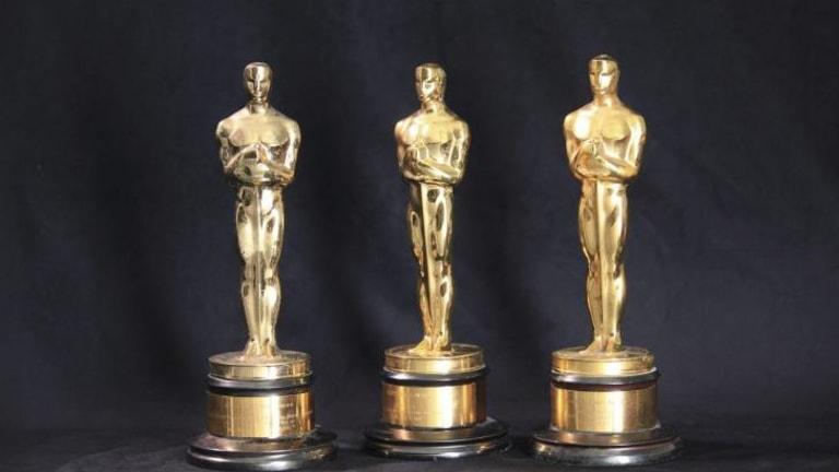 Heading home: Orry-Kelly's Oscars.