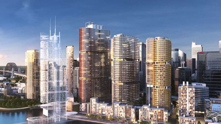 Barangaroo ... the most accurate glimse yet of the future for the $6 billion urban renewal project.