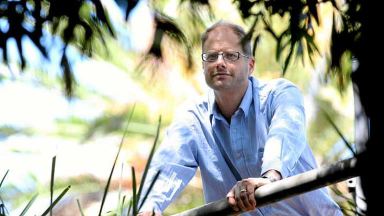Professor Steven Sherwood from the UNSW and a contributing author to one of the IPCC chapters.