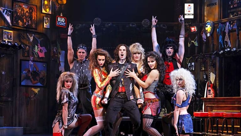 Deals done ... the Australian-cast production of <i>Rock of Ages</i> is the latest musical to open in Melbourne next month ahead of Sydney.