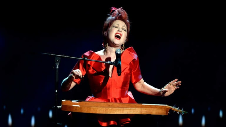 Cyndi Lauper performs onstage at The 67th Annual Tony Awards.