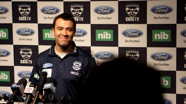 Done deal: Geelong coach Chris Scott may have an ace up his sleeve after Steven Motlop's move to Port Adelaide.