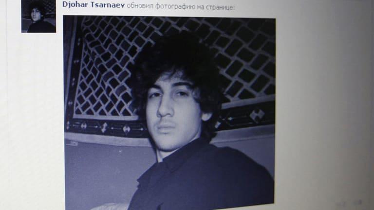 Social ... Djohar Tsarnaev, believed to be Dzhokhar Tsarnaev, seen on his page of Russian social networking site Vkontakte (VK)
