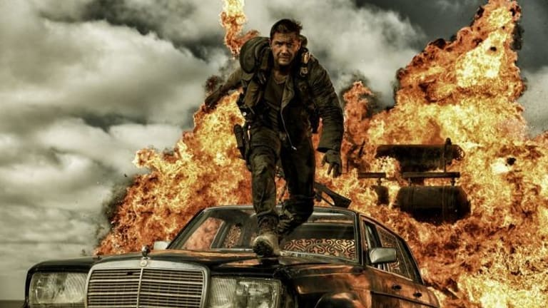 Tom Hardy fires up as Mad Max.