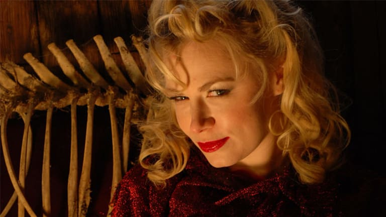 The first lady of horror: Jessica Cameron.