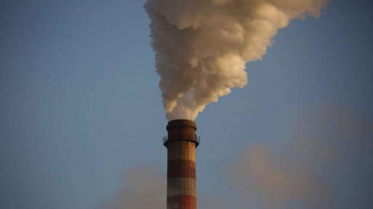 Steam rises from a chimney at the Junliangcheng power station in Tianjin, China. Leaders of both China and the UK have called on nations to reveal their action plans.