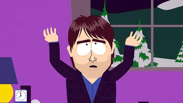 Tom Cruise in South Park, left out of the box set.