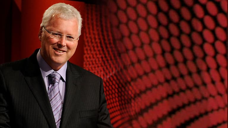 Swagger like us: inimitable <i>Q&A</i> host Tony Jones ensures panellists stay in line, his earpiece remains in place and he retains a straight face.