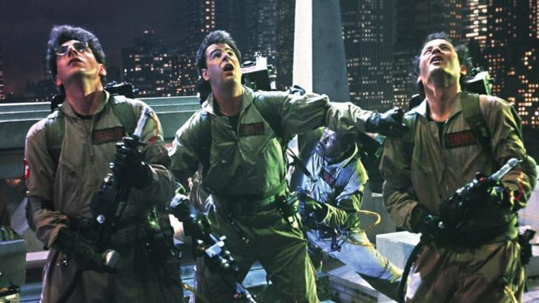 Look out: Revelations about <i>Ghostbusters</i> are among the latest Sony hacks.