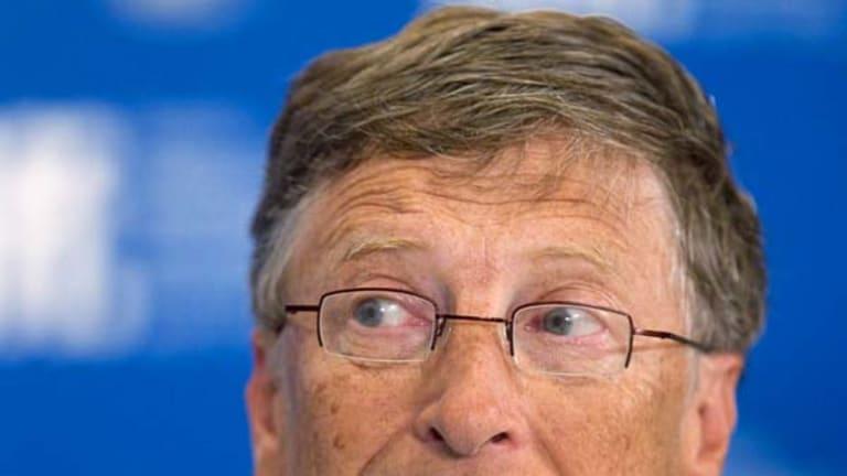 Bill Gates ... the Microsoft founder could well have $17 billion less than Hosni Mubarak.