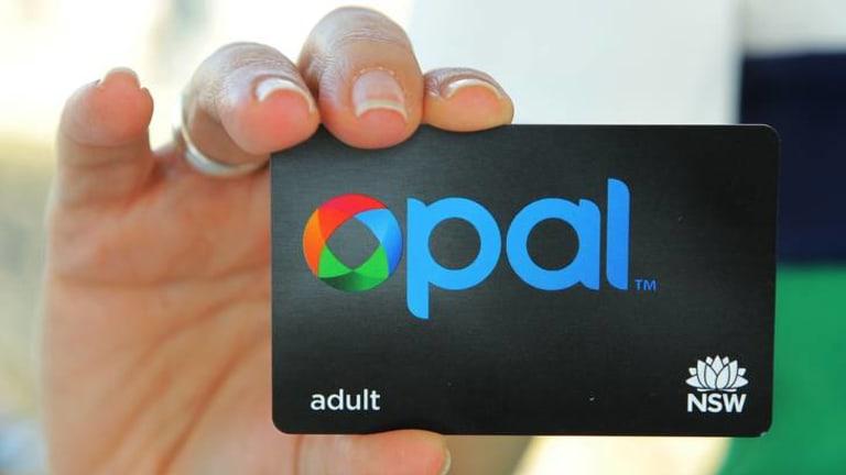 NSW's Opal card.