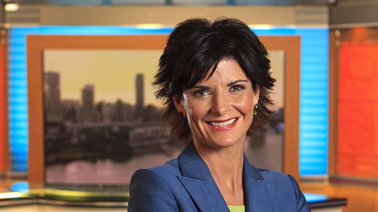 Goodnight ... long-time Channel Nine newsreader Heather Foord is retiring.