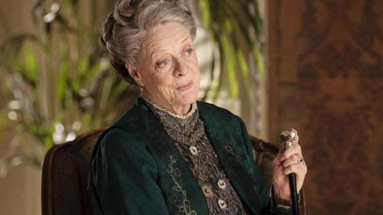Another great dame ... Maggie Smith stars in <i>Downton Abbey</i>.