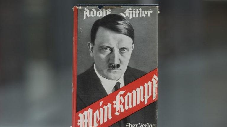 Copyright concerns: Adolf Hitler's infamous memoir <i>Mein Kampf</i>.