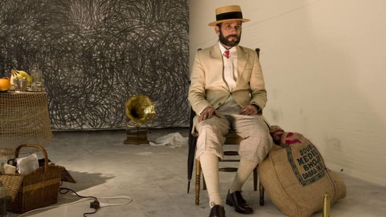 Nikhil Chopra performs at the Eveleigh Carriageworks later this month.