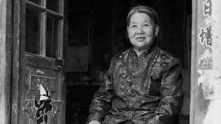 Forgotten woman: A portrait of Su Xi Rong, age 75, whose feet were bound.