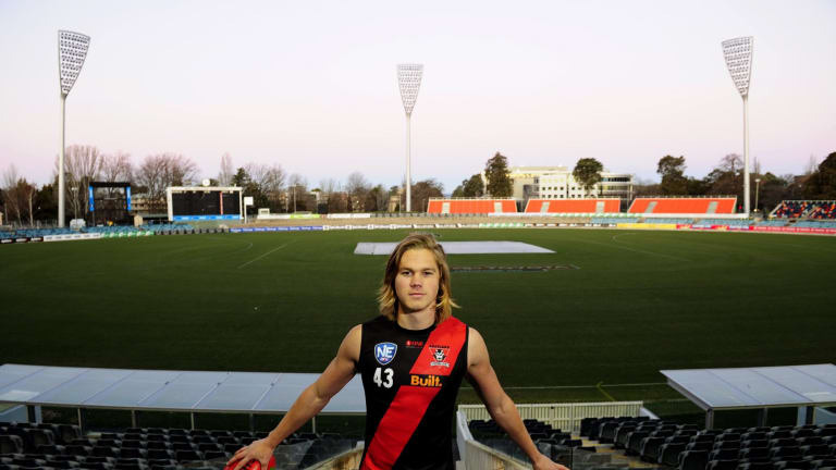 Eastlake player Harrison Himmelberg will join the GWS Giants after being taken with pick No. 16 in the AFL draft.