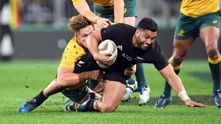 On the move:  Lima Sopoaga.