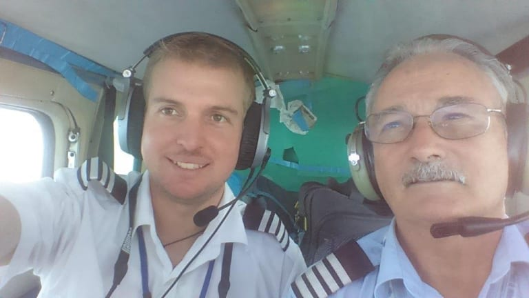 Civilian contractor Chris Langton, right, says the hunt for missing MH370 and operations relating to the shot down MH17 aircraft have soaked up funding earmarked for monitoring the Pacific.