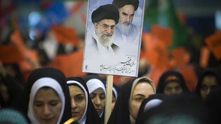 Parinoush Saniee's focus is the position of women in Iran's turbulent history.