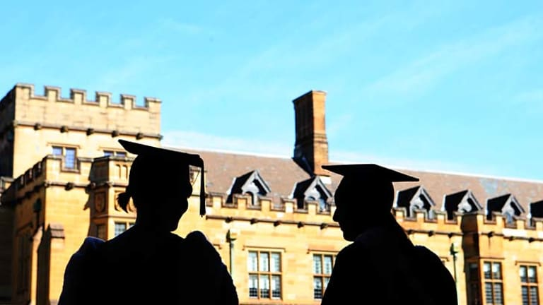 Keeping Australia on the map for tertiary education ... a focus on research and access to resources has seen a handful of NSW universities, including Sydney University, gain a position in <i>The Times Higher Education World University Rankings</i> report.