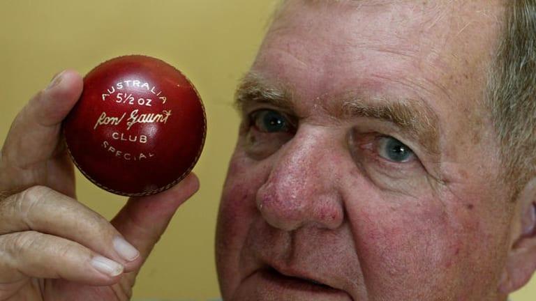 Former Test cricketer Ron Gaunt.