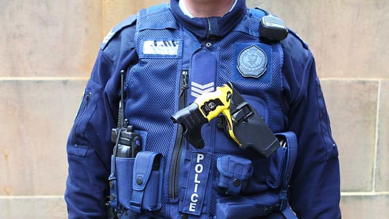 Transparency a cause a little closer to the heart ... the current NSW police force uniforms could soon be fitted out with Go Pro cameras.