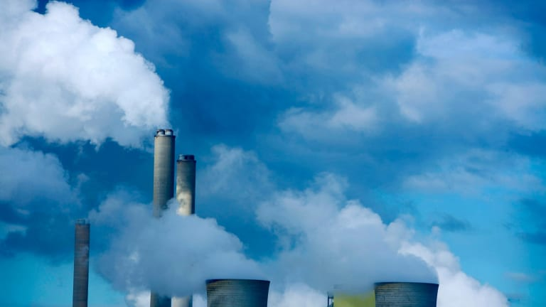 Power plants  in Victoria's Latrobe Valley: Brown and black coal generators will have to buy offset credits from combined-cycle gas, wind and solar generators.