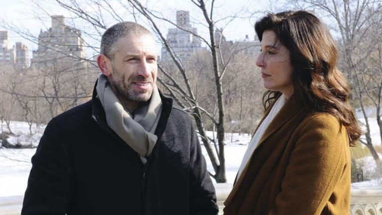 Fine crescendo: Mark Ivanir and Catherine Keener are violinists in Yaron Zilberman's <i>Performance</i>.