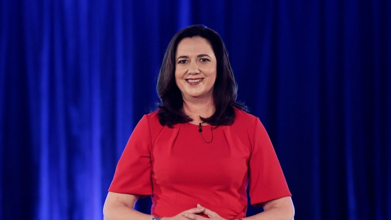 A winning smile in need of a political agenda? Queensland Premier Annastacia Palaszczuk.