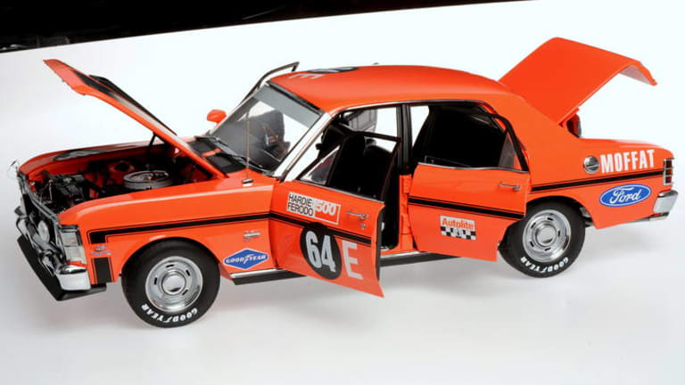 Die cast models are bought and sold at auction much like the real thing.