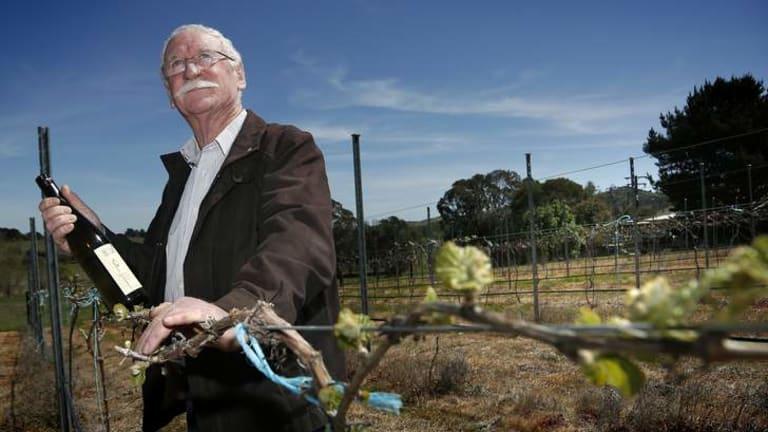 Ken Helm at Helm Wines in Murrumbateman.