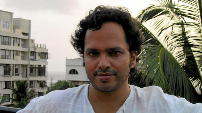 Author Vikram Chandra.