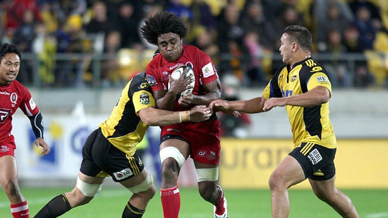 Radike Samo makes his first run-on start of the season for the Queensland Reds this weekend.