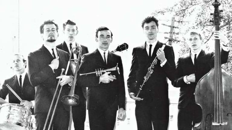 """Legacy of talent ... Oliver """"Nat Oliver"""" Hetherington, with his band, Nat Oliver's New Orleans Jazzmen."""