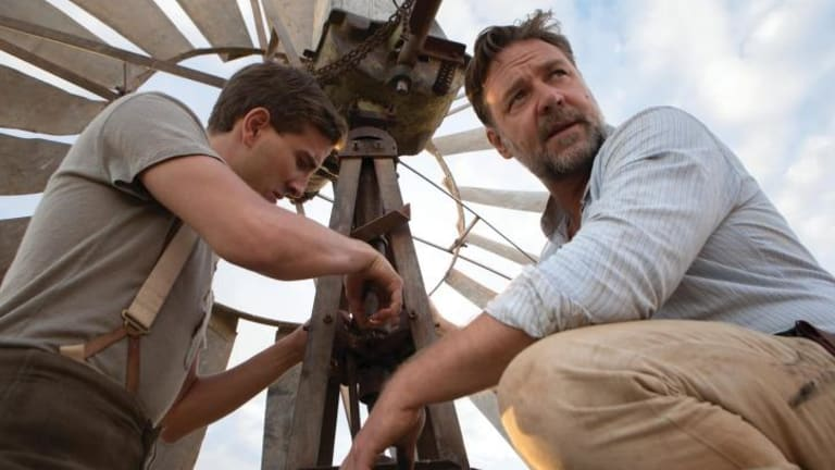 Russell Crowe was nominated for best actor for <i>The Water Diviner</i> but not best director.