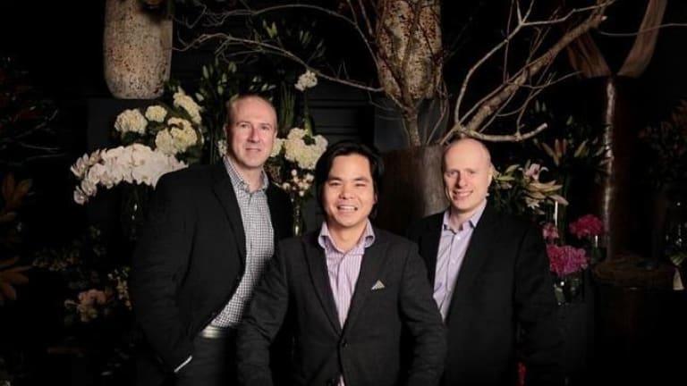The Sydney Seed Fund team: Garry Visontay, Benjamin Chong and Ari Klinger