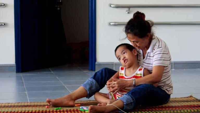 The centre was designed by RMIT students where children born with Agent Orange birth defects will recieve care.