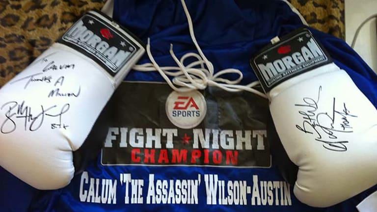 Calum 'The Assasin' Wilson Austin.