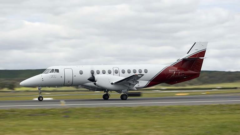 Turbulent times: a new owner is being sought for Brindabella Airlines.